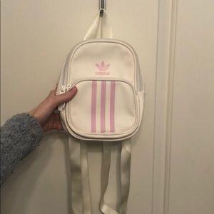 Like New Adidas Mini White backpack